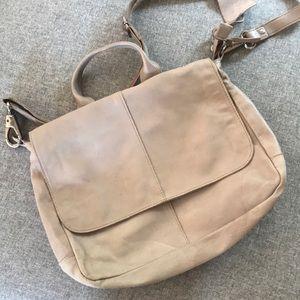 Latico Soft Gray Leather Purse